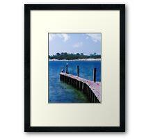 St. Vincent Island, FLA Framed Print