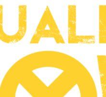 X-Men Mutant Equality NOW T-shirt Sticker
