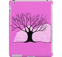 Tree and Mountain - Simple but unique drawing iPad Case/Skin