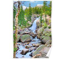 RMNP / Alberta Falls Poster
