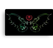 Well Potected Canvas Print