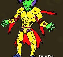 Howl-O-Ween Character by Riekert Krog