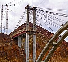 The New Bridge Over Hoover Dam by Memaa