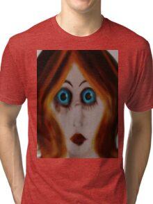 surprised Tri-blend T-Shirt