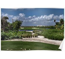 Riveria Palace Golf Course Poster