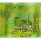 March (from a year full of color) by penn gregory