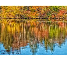 **************AUTUMN REFLECTION************** Photographic Print