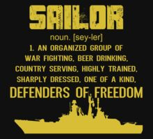 Sailor Definition Tshirt by funnyshirts2015
