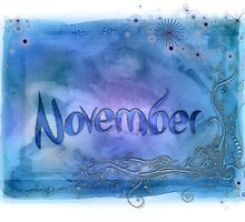 November (from a year full of color) by pentangled