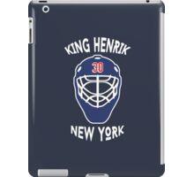 King Henrik New York Rangers T-shirt iPad Case/Skin