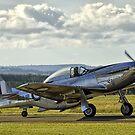 P51 Mustang  by Nick Sage