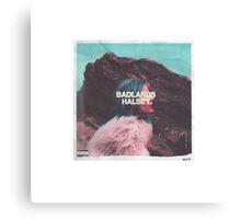 HALSEY BADLANDS Canvas Print