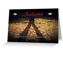Autumn Card Greeting Card
