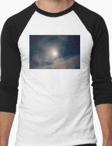 Sun Halo Men's Baseball ¾ T-Shirt