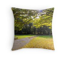 Its Autumn in London Throw Pillow