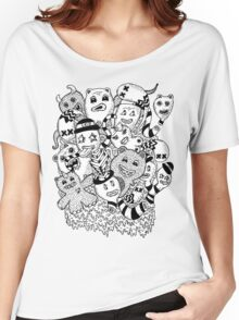 Abstract Monsters Women's Relaxed Fit T-Shirt