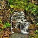 Treman Falls by Evelina Kremsdorf