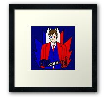 The French Doctor Framed Print