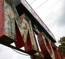 Motel Sign by Benjamin Sloma