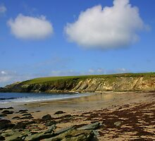 Clogher in the sun by Fiona Crowe