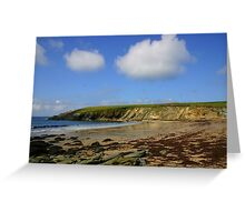 Clogher in the sun Greeting Card