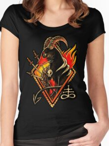 Houndoom Women's Fitted Scoop T-Shirt