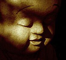 Bubba Buddha by Tina Gray