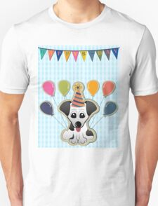 Cute Puppy Birthday Card T-Shirt