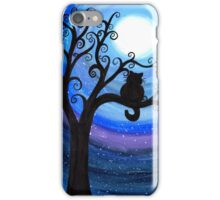 Midnight Cat iPhone Case/Skin