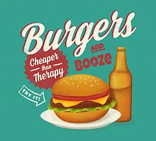 Burgers and Booze by wildwomen