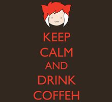 Keep Calm And Drink Coffeh! Unisex T-Shirt