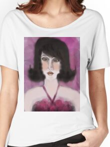 Pink Dress Women's Relaxed Fit T-Shirt