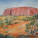 Uluru by Mrswillow