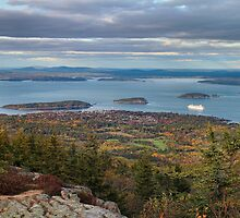 'Bar Harbor, From Cadillac Mountain' by Scott Bricker