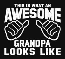 This is What an AWESOME GRANDPA Looks Like Retro Kids Clothes