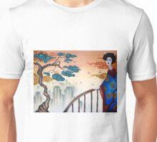 Geisha and the Mountains Unisex T-Shirt