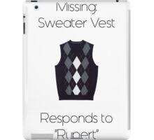 Sweater Vest iPad Case/Skin