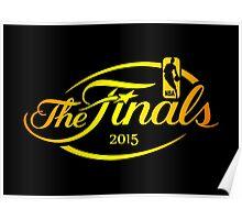 NBA FINALS 2015 Poster