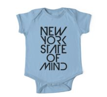 New York State of Mind One Piece - Short Sleeve