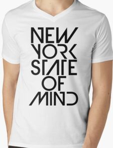 New York State of Mind Mens V-Neck T-Shirt
