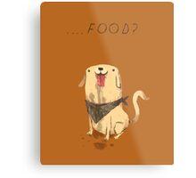 food? Metal Print