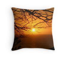 Sunset on Norfolk Island. Throw Pillow
