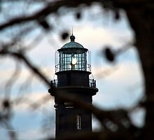 Lighthouse   Fire Island, New York  by © Sophie W. Smith