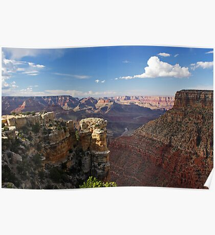 Towering Layers of the Grand Canyon II Poster