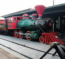 Old Fashioned Steam Engine. by ladybug49