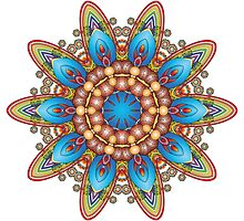 Colour Pattern Kaleidoscope 04 by fantasytripp