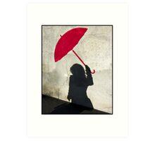 Parapluie (Art Card) Art Print
