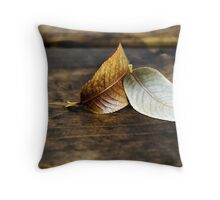 Love To The End Throw Pillow