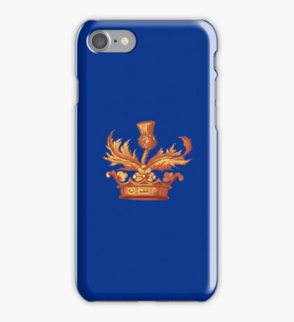 Outlander Book Cover Crown Design iPhone Case/Skin