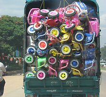 Colorful Load by Indrani Ghose